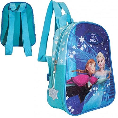 La reine des neiges - Petit sac à dos maternelle Reine des neiges, Elsa et Anna dansent entre les flocons