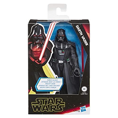 Star Wars Galaxy of Adventures Darth Vader 12,5 cm große Action-Figur mit toller Lichtschwert Action Attacke