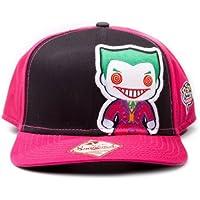 Elbenwald Joker Snapback Cap/Basecap DC Comics lizenziert Joker Motiv aufgenäht sehr hochwertig
