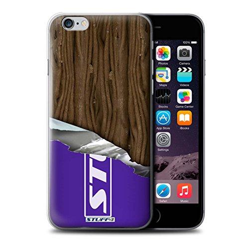 iCHOOSE Print Motif Coque de protection Case / Plastique manchon de telephone Coque pour Apple iPhone 5C / Collection Chocolat / Blocs Dairy Milk Flake/Flocon Enveloppé