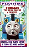 Thomas the Tank Engine & Friends: Stories, Sing Along Songs & Things to Make and Do [VHS]
