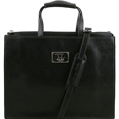 Tuscany Leather, Borsa a spalla uomo Nero nero Taille Unique