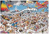 Jumbo Puzzle Jan van Haasteren At The Beach 1000 Piece Jigsaw Puzzle