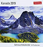 Kanada - Kalender 2019: Sehnsuchtskalender, 53 Postkarten -