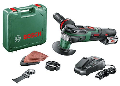 Bosch AdvancedMulti 18 Cordless Multifunction Tool with 18 V Lithium-Ion Battery
