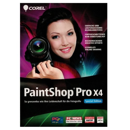 COREL PaintShop Pro X4 Special Edition Mini-Box (D