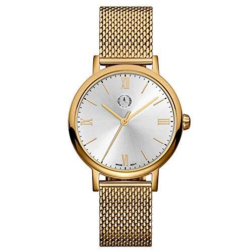 Mercedes Benz Original Reloj de Pulsera Mujer Acero Inoxidable