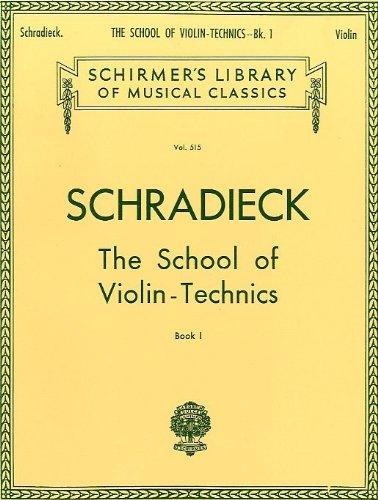 Henry Schradieck: School Of Violin Techn...