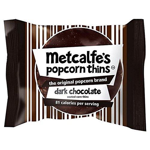 Maigre Sombre Popcorn De Chocolat Metcalfe Amincit 34G (Paquet de 4)