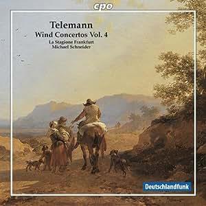 Telemann: Wind Concertos Vol.4