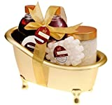 Geschenkset - 5-teiliges Wellness-Set Badeset Pflegeset Weihnachten Geschenk
