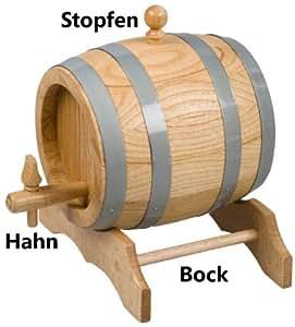 hofmeister holzwaren hahn f r fass 3 liter 5 liter 10 liter k che haushalt. Black Bedroom Furniture Sets. Home Design Ideas