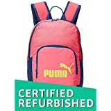 (Renewed) Puma 12 Ltrs Pink Kids Backpack (7410403)