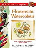 Cover of: Collins Learn to Paint – Flowers in Watercolour | Marjorie Blamey