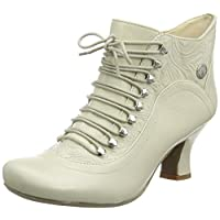 Hush Puppies Tiffin Verona Womens Side Zip Up Ankle Victorian Boots