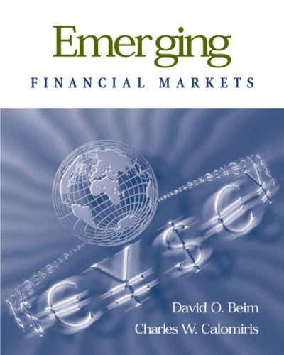 Emerging Financial Markets (The McGraw-Hill/Irwin Series in Finance, Insurance, and Real Estate)