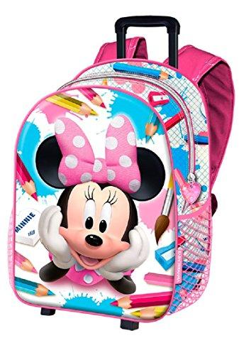 Minnie Mouse KM-37698 2018 Maleta, 50 cm, 1 litro, Multicolor