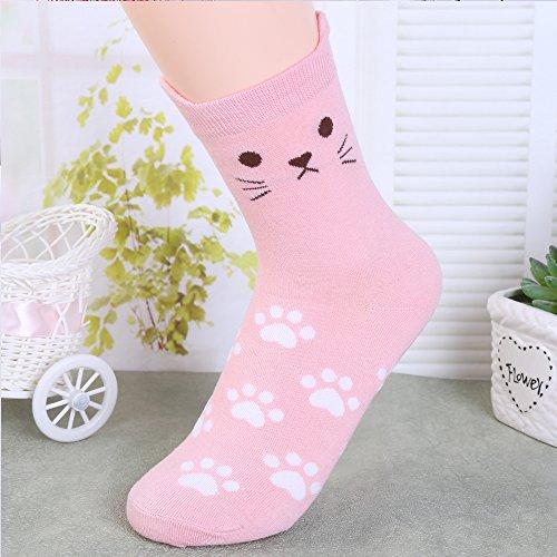 Merssavo1 Paar Unisex Weiche Beiläufige Warme Socken Comfort Short Sport Aktien Kit Niedlic (Fuzzy Socken Warm,)