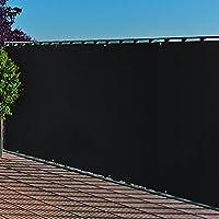 balkonblende mit osen pe balkon bespannung 0 9x3m farbe anthrazit sichtschutz uv
