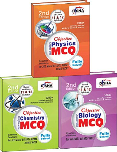 Objective Physics, Chemistry, Biology: Chapter-wise MCQ for AIPMT/AIIMS/KCET 2 (Box Set)