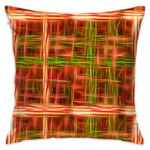 Bidetu Agate Pattern 3_19914 Funda de Almohada Decorativa Decoración para el hogar Funda de Almohada (18x18 Pulgadas)