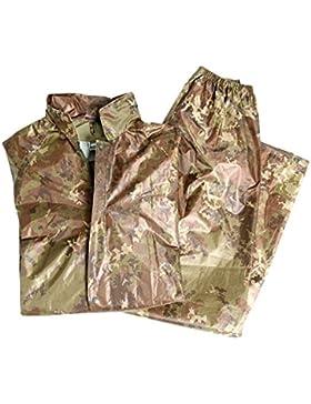Mil-Tec–Traje impermeable para hombre, hombre, color Vegetato Woodland, tamaño xx-large