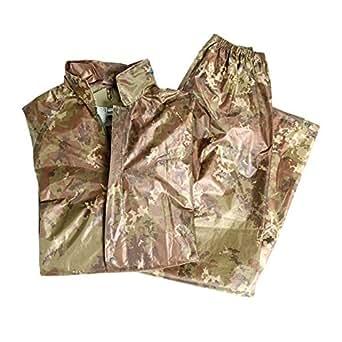 Miltec Tenue de pluie composée d'une veste et d'un pantalon s