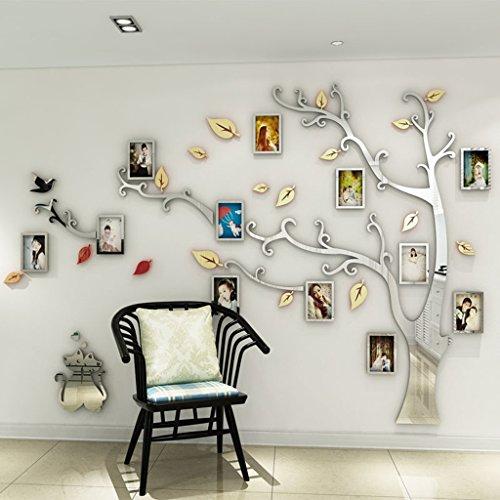 Nummer 9 Applique (Foto-Baum Acryl 3D Stereo Wandaufkleber Wohnzimmer Schlafzimmer Hintergrund Wanddekoration (Größe: 255 * 175cm) ( Farbe : A , größe : M ))