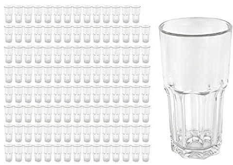 120 Longdrinkbecher GRANITY, 46 cl, Eichmarke bei 4 cl, Saftglas, Wasserglas, Trinkglas,Gastronomie