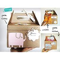 Regalo per Nascita/Battesimo con Cupcake (= Bavaglino + Calzini), Spugna Naturale e fiore di calzini   PERSONALIZZAZIONI DISPONIBILI: Nome Bebé, Biglietto, Colori/Sesso Bebé, Packaging Deluxe