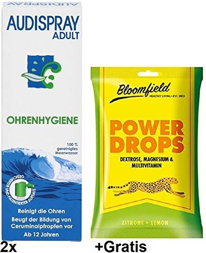 Audisray Adult 2x 50ml Gratis Power Drops Ohrenhygiene Ab 12 Jahren