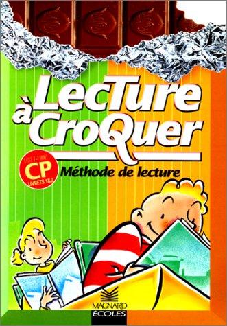 Lecture à croquer : Lecture, CP (Coffret de 2 livrets)