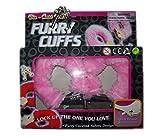 Stabile Furry Plüschhandschellen in rosa Plüsch Handschellen