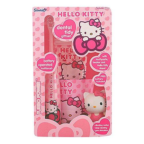 Hello Kitty–Spazzolino elettrico + Dentifricio Hello Ki