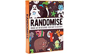 Randomise: the Hilarious Pocketsize Party Game of Drawing, Acting and Describing