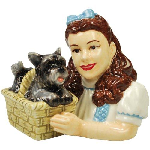 Westland Giftware Der Zauberer von Oz Magnet Dorothy und Toto Salz und Pfeffer Shaker Set, 3–1/4-Zoll