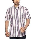 Moksh Multicolor Slim Fit Cotton Shirt V...