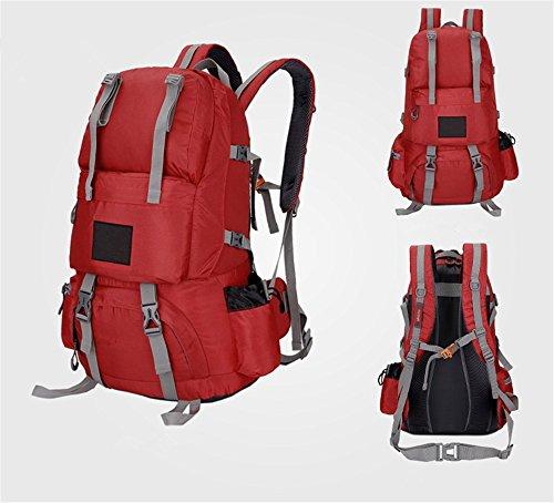 appassionati di outdoor alpinismo borsa a tracolla uomo & donne Camping zaino da viaggio (50L), L C
