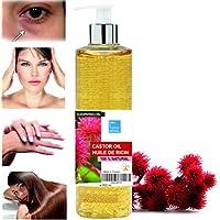 Olio de Ricino 100% Naturale 500 ml - Occhiaie Capelli