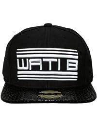 Wati B - Casquette Snapback Homme Woven - Black / White