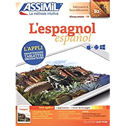 L'espagnol B2 - Pack applivre 1 application + 1 livret de 60 pages (Sans peine)