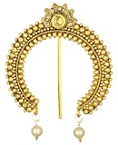 #3: Reeti Fashions Gold Stone Studded Juda Pin Hair Pin for woman (RF17_9A_32)