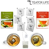 [Sponsored]28 Day Detox Herbal Green Tea For Weight Loss, Slimming & Detox Tea For Glowing Skin Bundle | 25 Tea Bags