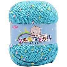 Ovillos de hilo para tricotar Prevently de 50 g para tejer a mano todo tipo de