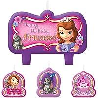 Disney Sofie The First 4teiliges Cumpleaños velas Set