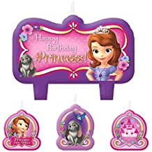 Disney Sofie The First 4teiliges Cumpleaños velas Set