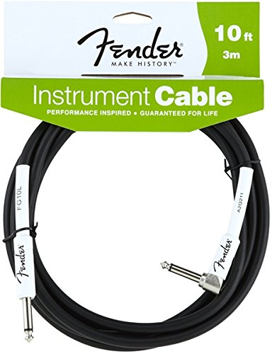 fender-instrument-lead-10-foot-3-m-1-4-jack-to-1-4-angled-jack