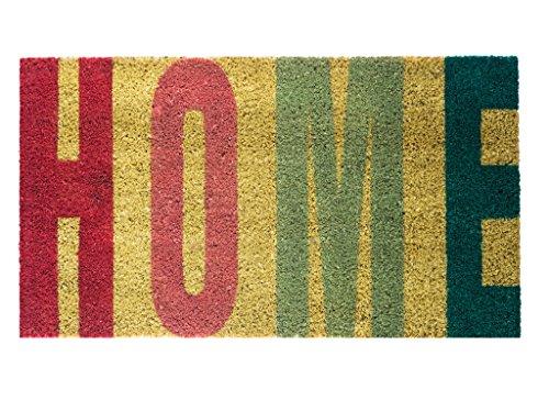 Felpudos Entrada de Casa Home, multicolor con fondo gris
