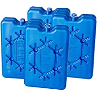 ToCi Bloques refrigerantes planos, elementos de refrigeración para la nevera portátil o bolsa isotérmica.
