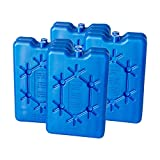 Toci Kühlakkus | 8x200ml flaches Freezeboard | Kühlelemente für die Kühlbox oder Kühltasche